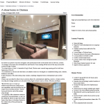 Ashville Smart Homes Showroom Features On High End Property Website