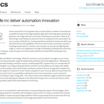 Home Automation Feature On ECS Website